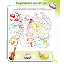 Výsledek obrázku pro hudební výchova- pracovní list