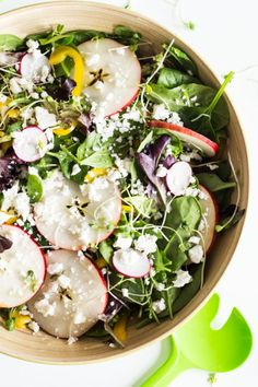 A Feta Salad recipe packed full of vitamins to boost your immune system right in time for winter. A crunchy and delicious way to keep healthy with real food