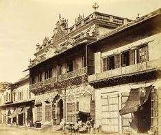 A snapshot of Chandni Chowk(taken in 1858)