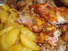 Hawaiian Pizza, Pork, Tasty, Food And Drink, Chicken, Meat, Ethnic Recipes, Preparado, Quiche