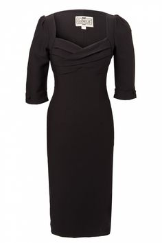 Collectif Clothing - Collectif Clothing - 50s Rizzo dress in black