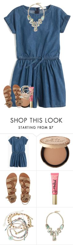 """""""25 questions tag in the d!"""" by oliviajordyn ❤ liked on Polyvore featuring J.Crew, Too Faced Cosmetics, Billabong, Decree, Kendra Scott and bedroom"""