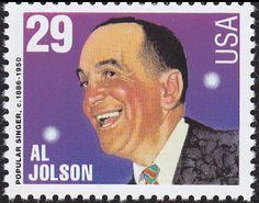 Resultado de imagem para selo de Al Jolson