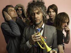The Flaming Lips - 1995 in Tulsa, Okla., also Hattiesburg, Miss., Memphis, Tenn., Gulf Shores, Ala. (x3).