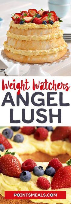 #weight_watchers Angel Lush #cake #pineapple