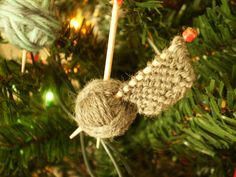 Hand-Made Christmas Ornament