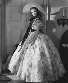 Vivienne Lee as Scarlett O'Hara..oh my..