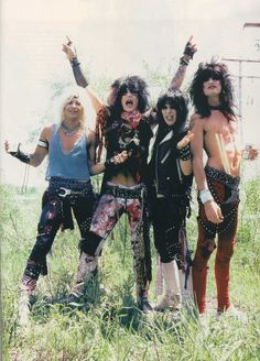 #Motley_Crue, have seen many, many times...met Vince and Nikki, would love to meet Tommy too