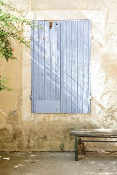 blue shutters..something so beautiful about this picture