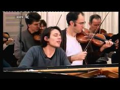 David Fray  Largo & Presto from Bach's Concerto No 5 in F Minor BWV 1056) / OMG...I loved the way he was playing....passionate and tender.....