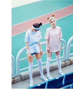 Vintage Stamp T-Shirts | Korean Fashion #CHUU
