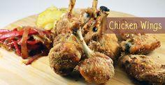 Κοπανάκια και Φτερούγες Κοτόπουλου με Γλυκόξινη Σάλτσα