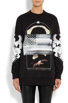 Givenchy|Multi-print sweatshirt |NET-A-PORTER.COM