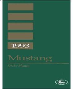 1993 Ford Mustang Wiring Diagram Mustang Wiring