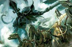 All Things Warhammer - The News : Photo Warhammer Fantasy, Warhammer Art, Dark Fantasy Art, Fantasy Rpg, Goblin, Tomb Kings, Guild Wars, Fantasy Setting, Environmental Art