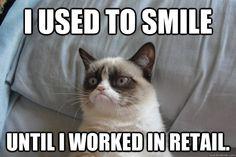 Grumpy cat, grumpy cat meme, grumpy cat humor, grumpy cat quotes, grumpy cat funny …For the best humour and hilarious jokes visit www. Grumpy Cat Quotes, Funny Grumpy Cat Memes, Funny Cats, Funny Memes, Grumpy Kitty, Funny Animals, Kitty Kitty, Funniest Animals, Animal Memes
