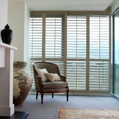 Woodbury Sliding - Just Blinds