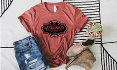 Excited to share this item from my #etsy shop: Sanderson Sister Bed & breakfast Shirt, Sanderson Sister Shirt, Hocus Pocus T-Shirt, Halloween Shirt, Disney Halloween Tee, Hocu Pocu Shirt Disney Shirts For Family, Family Shirts, Disney Halloween, Halloween Shirt, Sanderson Sisters, Hocus Pocus, Bed And Breakfast, Custom Shirts, Short Sleeves