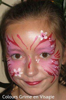schminkvoorbeeld vlinder - Google zoeken