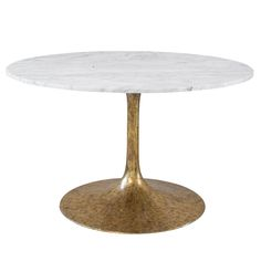 Iris Dining Table In Carrera Marble