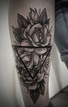 rose tattoo forearm - Szukaj w Google