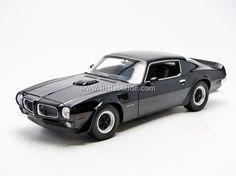 greenlight 1/18 diecast tv and movie cars   WELLY PONTIAC Firebird Trans-am - 1972 - Little Bolide