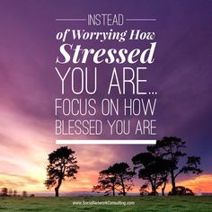 Stressed vs Blessed... - Bacon Bits   Daily Networking Tips   www.notaboutu.com  