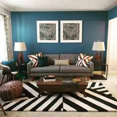 Tips That Help You Get The Best Leather Sofa Deal. A leather couch is the ideal way to improve a space's design and th Living Room End Tables, Living Room Area Rugs, Boho Living Room, Living Room Decor, Living Room Color Schemes, Living Room Designs, Room Wall Colors, Colourful Living Room, Living Room Inspiration
