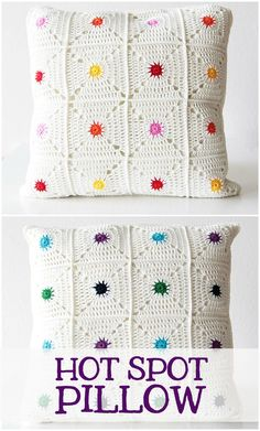 The hotspot pillow is an easily customizable pillow case that brings a little pop of colour into your room! You can create any colour combination you want. This particular colour combination has two sides: One sunny and bright side, and one side for when you're looking for more calmer colours. Or just mix it all up ༺✿ƬⱤღ http://www.pinterest.com/teretegui/✿༻
