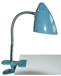 Lampe Clip Bleu Petrole Waterquest - Lili's