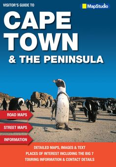 Visitor's Guide Cape Town & Peninsula - Mapping of the Cape Peninsula Route Planner, Table Mountain, Main Attraction, Places Of Interest, Cape Town, West Coast, Touring, National Parks, Map