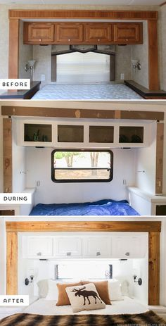 The Best Easy RV Remodels On A Budget: 45+ Before And After Pictures http://goodsgn.com/rv-camper/easy-rv-remodels-on-a-budget-45-before-and-after-pictures/