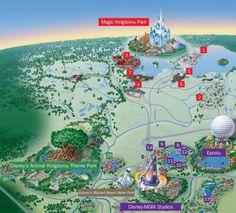 Disneyworld Map