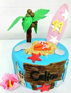 ¡¡Ya estamos en verano!! Hoy os presentamos una tarta tropical muy muy surfera  www.tartasgourmet.com #tartasurf #tartatropical