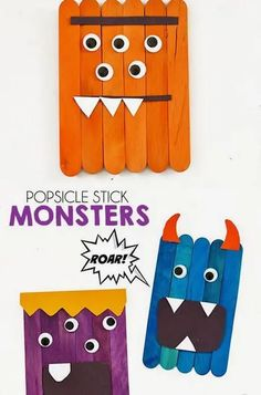 20+ EASY Popsicle Stick Crafts For Kids