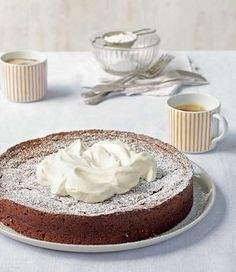 Rich chocolate fudge cake recipe by Margaret Fulton from the book Baking | Cooked