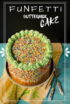 Funfetti Buttermilk Cake www.pastry-workshop.com