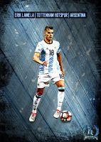 Erik Lamela by PanosEnglish on DeviantArt Erik Lamela, Tottenham Hotspur Fc, Deviantart, Cristiano Ronaldo, Soccer, Football, Sports, Men, Tips
