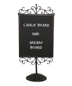 @Victoria  Take a look at this Vertical Marque Chalkboard Sign by VIP International on #zulily today!