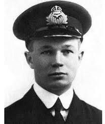 """Captain Arthur Roy Brown, Canadian World War I flying ace of the British RAF was officially credited with shooting down Manfred von Richthofen, the ""Red Baron"", 20 April 1918."""