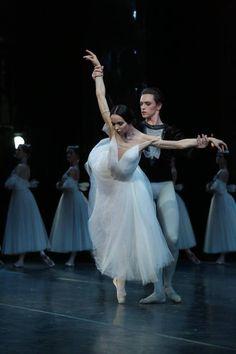 "Diana Vishneva (Mariinsky Ballet) and Sergey Polunin (Stanislavsky Ballet), ""Giselle"" at Stanislavsky Theatre, Moscow, Russia"