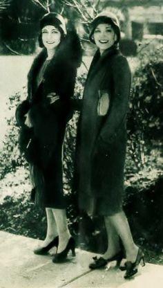 Dorothy Sebastian and Leila Hyams