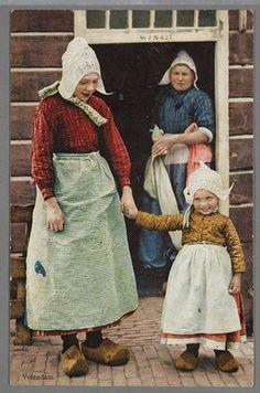 Trachten Niederlande-Holland   ca 1915