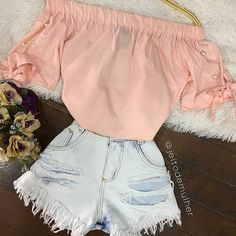 Pin on My style Cute Summer Outfits, Girly Outfits, Cute Casual Outfits, Outfits For Teens, New Outfits, Stylish Outfits, Cute Fashion, Teen Fashion, Womens Fashion