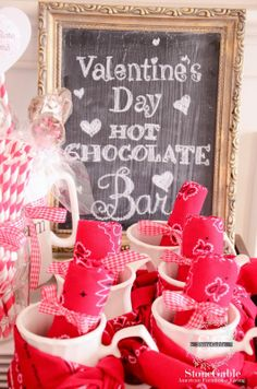 StoneGable: VALENTINE'S DAY HOT CHOCOLATE BAR
