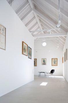 Studio Inches renovates Alpine house to create private gallery