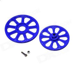 Walkera HM-F450-Z-03 Main Gear Set for V450D03 / V450D01 / F450 R/C Helicopter - Blue (2 PCS). Brand Walkera Model HM-F450-Z-03 Quantity 2 Piece(s)/pack Color Blue Material Plastic Compatible device Walkera V450D03 / V450D01 / F450 RC Helicopter Functions Spare parts for Walkera V450D03 / V450D01 / F450 RC Helicopter Packing List 2 x Walkera HM-F450-Z-03 Main Gears. Tags: #Hobbies #Toys #R/C #Toys #Other #Accessories