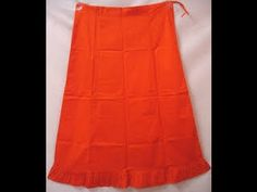 How To Cut/Measure Petticote: Saree Blouse Under Skirt Cutting Stitching...