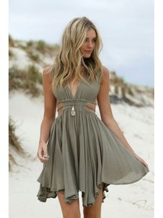 Summer Dresses // style // green