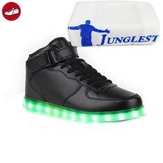 [Present:kleines Handtuch]Gold 37 EU Farbe 7 Sportschuhe Schuhe Herren Sport JUNGLEST Sneaker Damen LED USB JUNGLEST(TM) Aufladen Unisex-Erwachsene DwJUNGtY4z